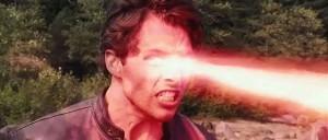 laser beam eyes
