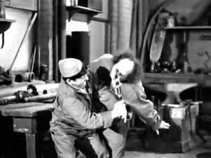three stooges auto mechanics